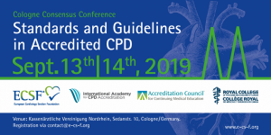Cologne Consensus Conference 2018: Standards and Guidelines in Accredited CPD